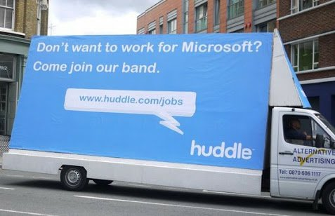 Huddle Guerilla Recruiting