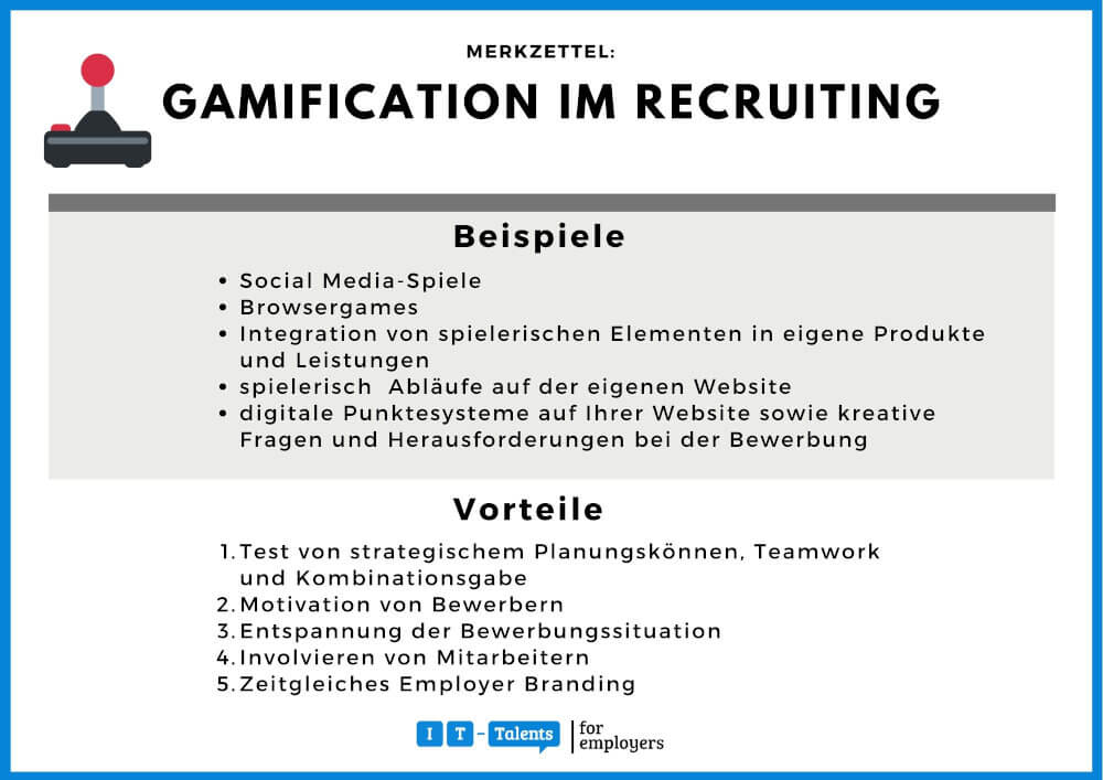 Gamification-Merkblatt