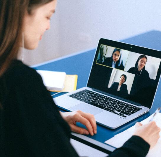 Video-Konferenz Beispielbild